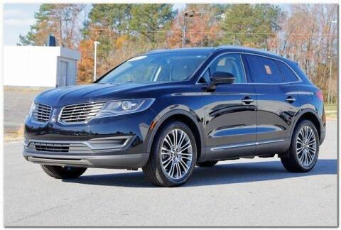 2017 Lincoln MKX for sale at WHITE MOTORS INC in Roanoke Rapids NC