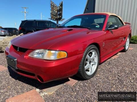 1996 Ford Mustang SVT Cobra for sale at Modern Motorcars in Nixa MO