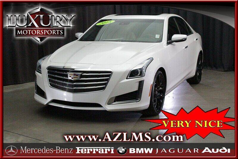 2018 Cadillac CTS for sale at Luxury Motorsports in Phoenix AZ