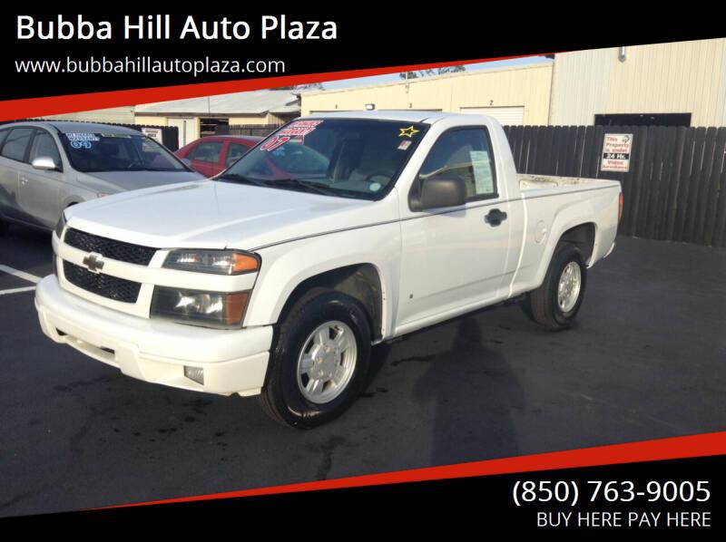 2007 Chevrolet Colorado for sale at Bubba Hill Auto Plaza in Panama City FL