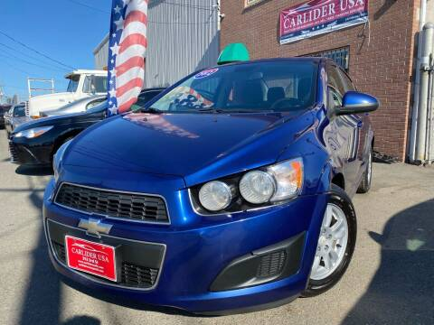 2012 Chevrolet Sonic for sale at Carlider USA in Everett MA