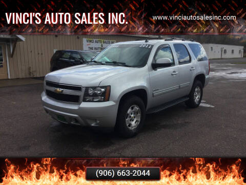 2011 Chevrolet Tahoe for sale at Vinci's Auto Sales Inc. in Bessemer MI