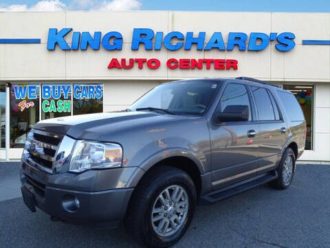 2012 Ford Expedition for sale at KING RICHARDS AUTO CENTER in East Providence RI