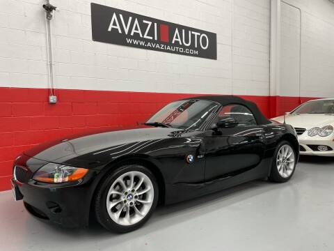 2004 BMW Z4 for sale at AVAZI AUTO GROUP LLC in Gaithersburg MD