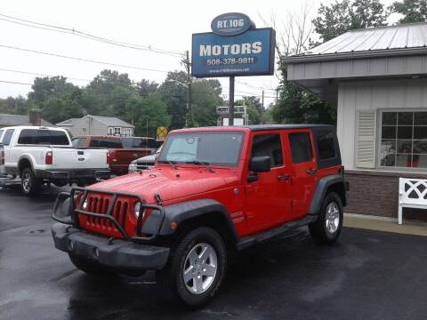 2010 Jeep Wrangler Unlimited for sale at Route 106 Motors in East Bridgewater MA