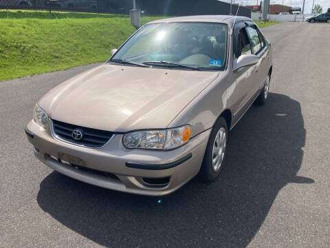 2001 Toyota Corolla for sale at Michaels Used Cars Inc. in East Lansdowne PA