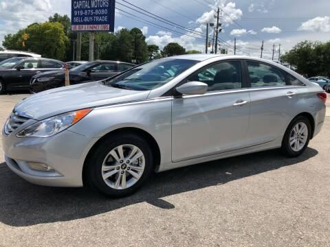 2013 Hyundai Sonata for sale at Capital Motors in Raleigh NC