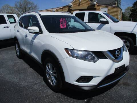 2015 Nissan Rogue for sale at SPRINGFIELD AUTO SALES in Springfield WI