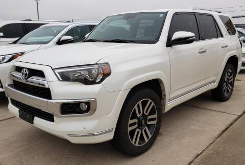 2016 Toyota 4Runner for sale at Lipscomb Auto Center in Bowie TX