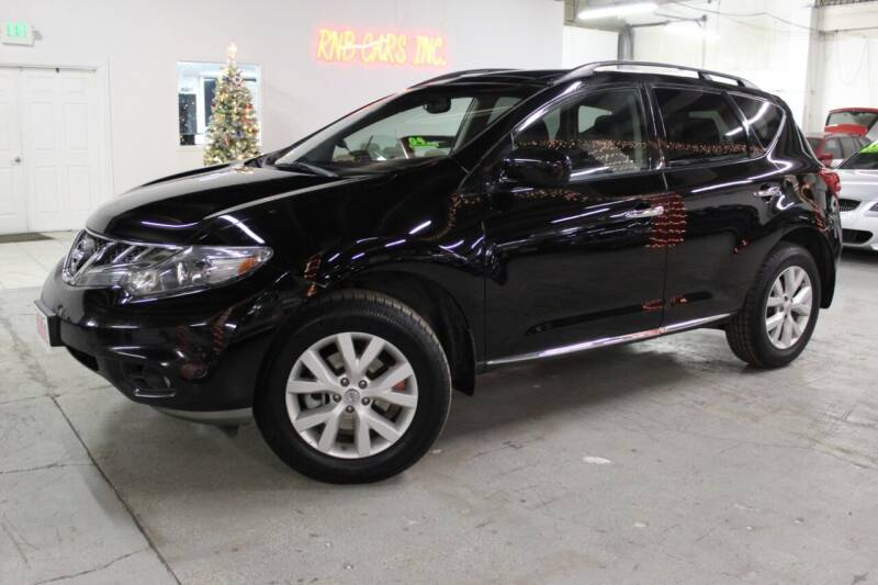 2011 Nissan Murano for sale at R n B Cars Inc. in Denver CO