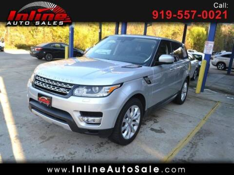 2015 Land Rover Range Rover Sport for sale at Inline Auto Sales in Fuquay Varina NC