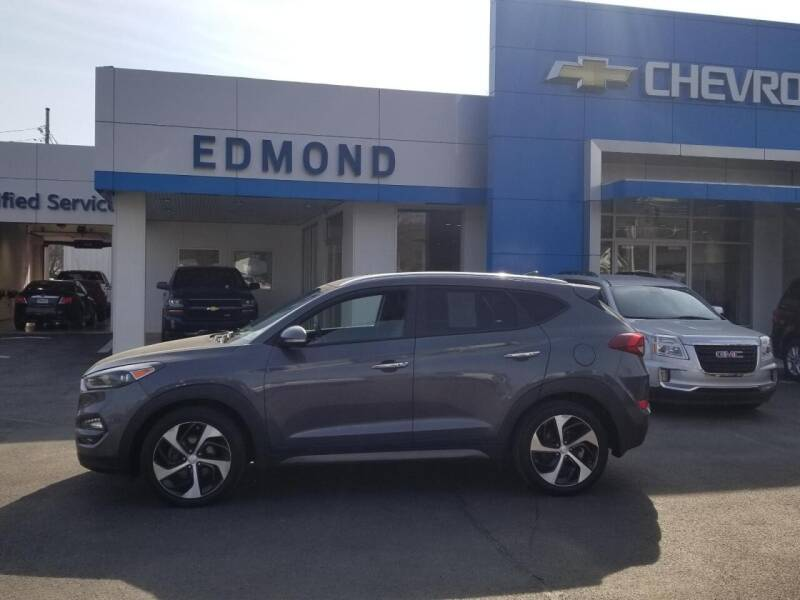 2016 Hyundai Tucson for sale at EDMOND CHEVROLET BUICK GMC in Bradford PA