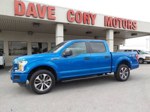 2019 Ford F-150 for sale at DAVE CORY MOTORS in Houston TX