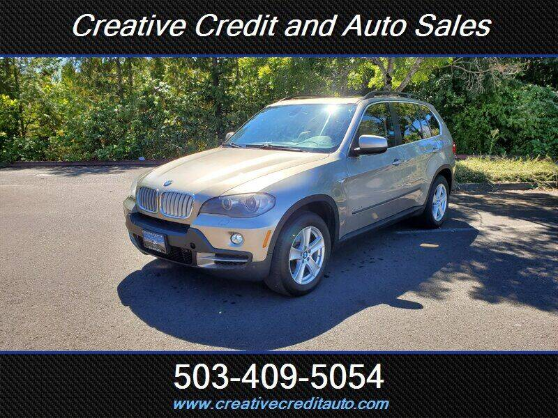 2009 BMW X5 for sale at Creative Credit & Auto Sales in Salem OR