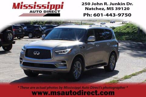 2019 Infiniti QX80 for sale at Auto Group South - Mississippi Auto Direct in Natchez MS