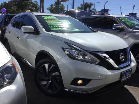 2015 Nissan Murano for sale at LA PLAYITA AUTO SALES INC in South Gate CA