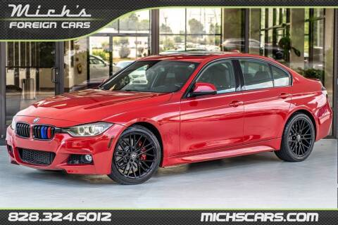 2015 BMW 3 Series for sale at Mich's Foreign Cars in Hickory NC