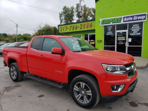 2015 Chevrolet Colorado for sale at Empire Auto Group in Indianapolis IN