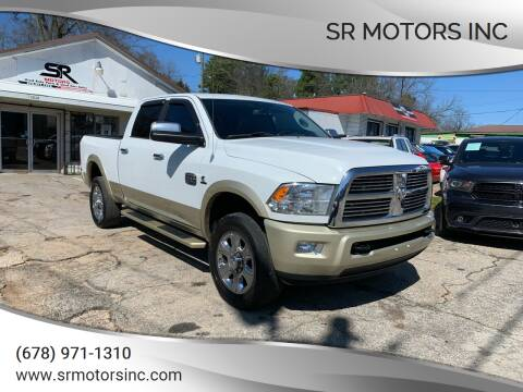 2012 RAM Ram Pickup 2500 for sale at SR Motors Inc in Gainesville GA