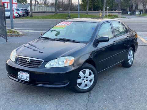 2006 Toyota Corolla for sale at KAS Auto Sales in Sacramento CA
