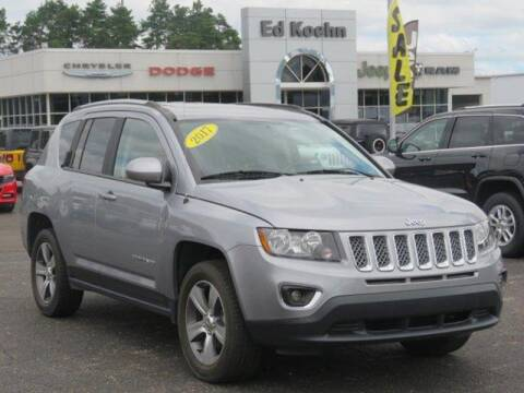 2017 Jeep Compass for sale at Ed Koehn Chevrolet in Rockford MI