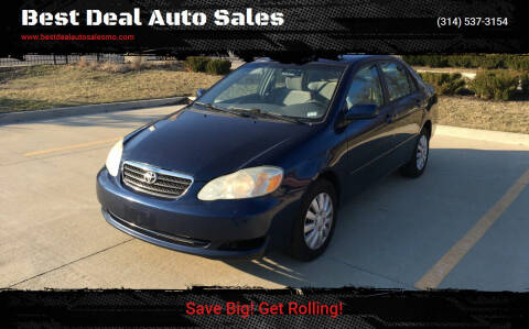 2006 Toyota Corolla for sale at Best Deal Auto Sales in Saint Charles MO