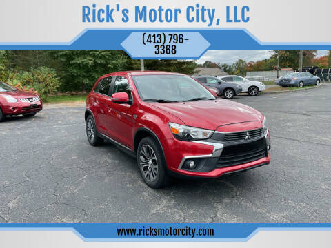 2017 Mitsubishi Outlander Sport for sale at Rick's Motor City, LLC in Springfield MA