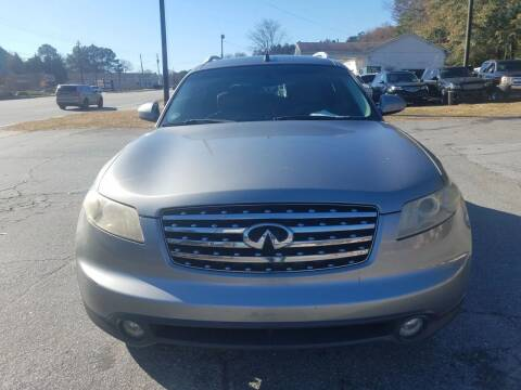 2004 Infiniti FX35 for sale at CAR STOP INC in Duluth GA