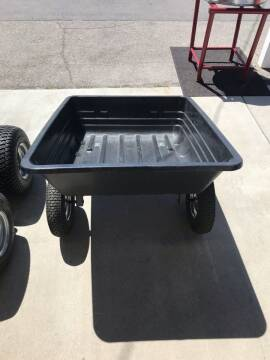 2020 BRABER 600 LB POLY DUMB CART for sale at Hobby Tractors - Implements in Pleasant Grove UT