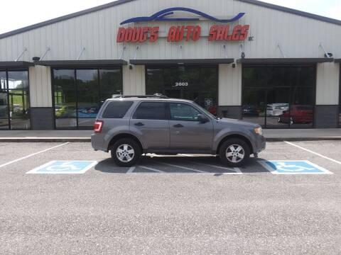 2012 Ford Escape for sale at DOUG'S AUTO SALES INC in Pleasant View TN