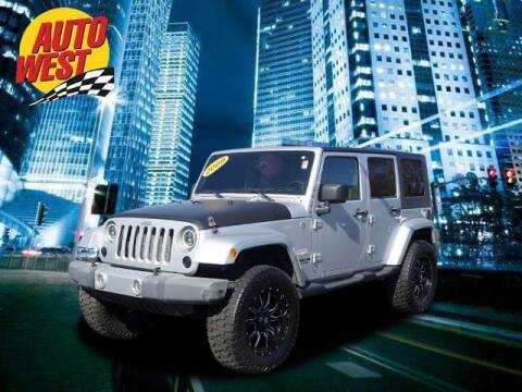 2009 Jeep Wrangler Unlimited for sale at Autowest of GR in Grand Rapids MI
