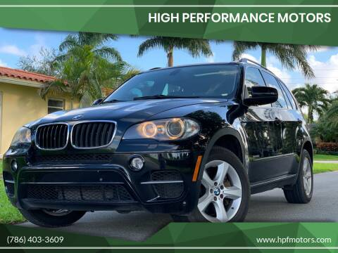 2011 BMW X5 for sale at HIGH PERFORMANCE MOTORS in Hollywood FL