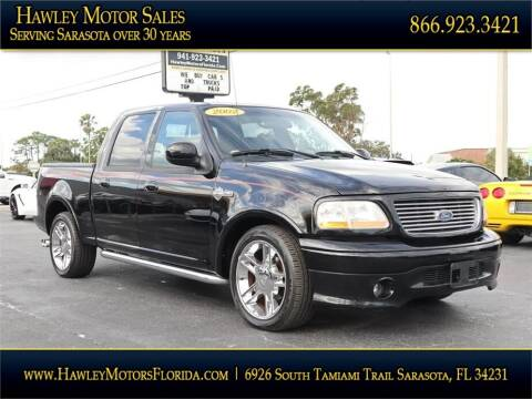 2002 Ford F-150 for sale at Hawley Motor Sales in Sarasota FL