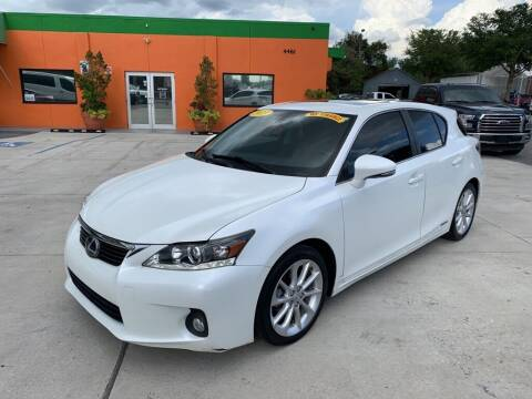 2013 Lexus CT 200h for sale at Galaxy Auto Service, Inc. in Orlando FL