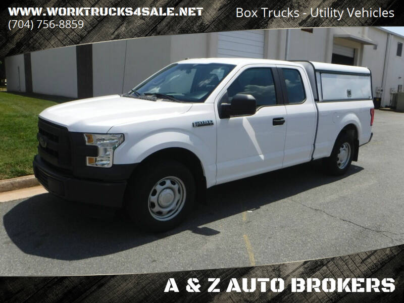 2016 Ford F-150 for sale at A & Z AUTO BROKERS in Charlotte NC