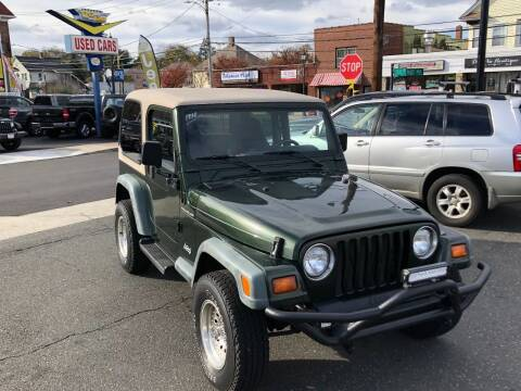 1998 Jeep Wrangler for sale at Bel Air Auto Sales in Milford CT