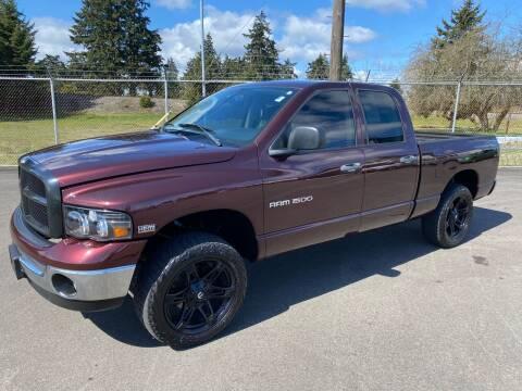 2005 Dodge Ram Pickup 1500 for sale at Vista Auto Sales in Lakewood WA