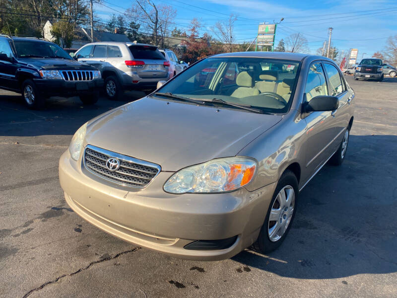2007 Toyota Corolla for sale at Irving Auto Sales in Whitman MA