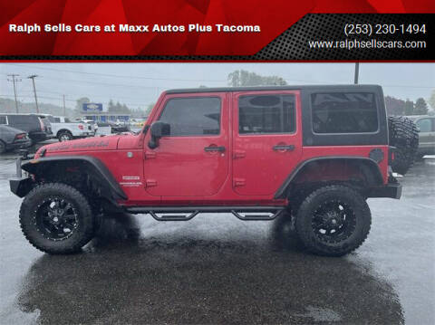 2012 Jeep Wrangler Unlimited for sale at Ralph Sells Cars at Maxx Autos Plus Tacoma in Tacoma WA