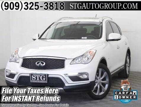 2017 Infiniti QX50 for sale at STG Auto Group in Montclair CA