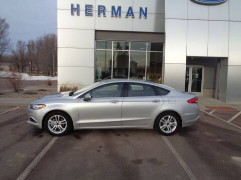 2018 Ford Fusion for sale at Herman Motors in Luverne MN