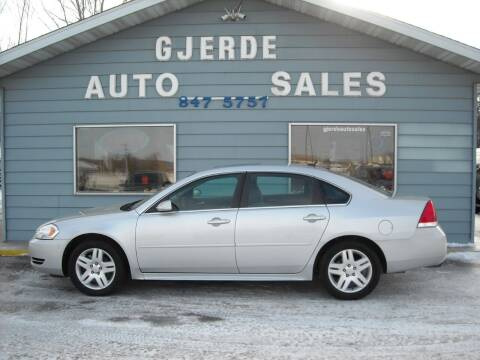 2015 Chevrolet Impala Limited for sale at GJERDE AUTO SALES in Detroit Lakes MN