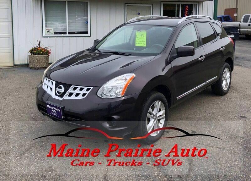 2012 Nissan Rogue for sale at Maine Prairie Auto INC in Saint Cloud MN