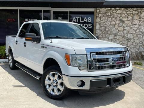 2013 Ford F-150 for sale at ATLAS AUTOS in Marietta GA