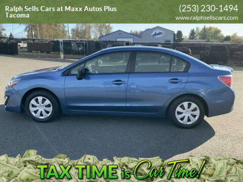 2016 Subaru Impreza for sale at Ralph Sells Cars at Maxx Autos Plus Tacoma in Tacoma WA