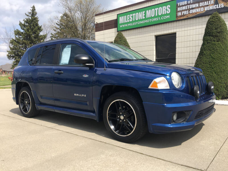 2009 Jeep Compass for sale at MILESTONE MOTORS in Chesterfield MI