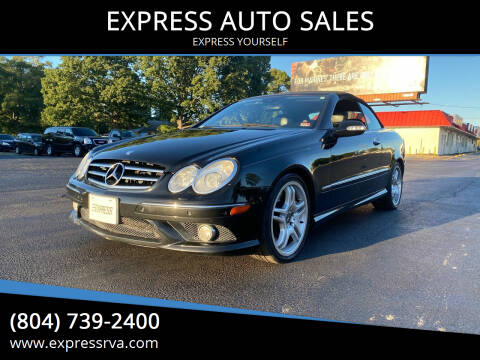 2006 Mercedes-Benz CLK for sale at EXPRESS AUTO SALES in Midlothian VA
