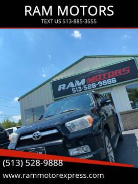 2013 Toyota 4Runner for sale at RAM MOTORS in Cincinnati OH