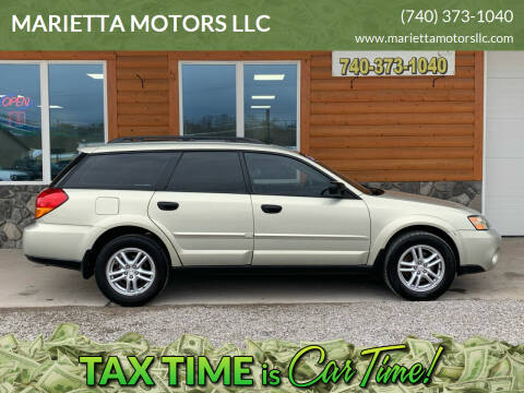2005 Subaru Outback for sale at MARIETTA MOTORS LLC in Marietta OH
