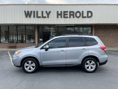2015 Subaru Forester for sale at Willy Herold Automotive in Columbus GA